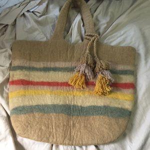 Wool tote